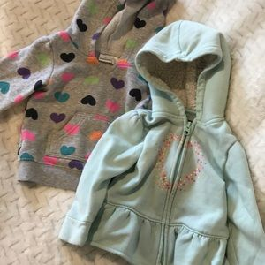 Other - Zip up and pullover hoodies